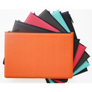 Premium business flat multi zipper pouch