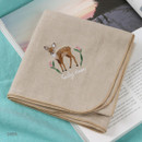 Deer - Tailorbird animal fastel small blanket