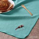 Lesser panda - Tailorbird animal fastel small blanket