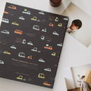 Toy car - Remember our time self adhesive photo album