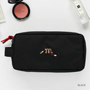 Black - For your makeup cosmetic pouch bag