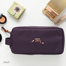 Violet - For your makeup cosmetic pouch bag