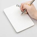 Corner medium spiral lined notebook
