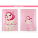 Pink hood - Choo Choo play lined notebook