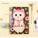 Peach hood - Choo Choo play lined notebook