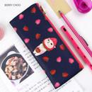 Berry Choo - Choo Choo slim zipper pencil case