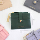 Size of Think about W folding card case