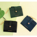 Think about W folding card case