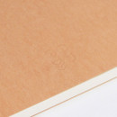 Detail of Earth sewn bound B5 lined notebook