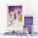 The wizard of OZ 108 piece jigsaw puzzle - Purple