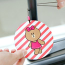 Choco - Line friends travel luggage name tag set