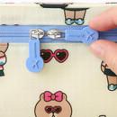 Zippered - Line friends small travel mesh bag packing organizer