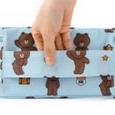 Top handle - Line friends travel shoes mesh pocket pouch