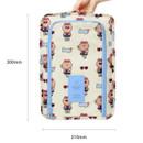 Size of Line friends travel zip shoes pouch bag ver.3