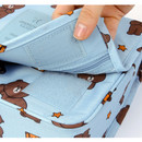 Velcro closure - Line friends travel hanging toiletry pouch bag