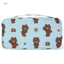 Back - Line friends travel pouch bag for underwear and bra