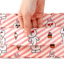 Top handle - Travel large pouch bag for underwear and bra