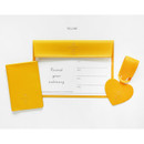 Yellow - Aire delce travel essentials set