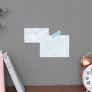Mint - Life is a journey becoming memo pad