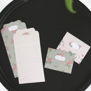 B - From letter paper and envelope set
