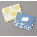 A - From letter paper and envelope set
