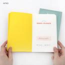 Intro - Recit de voyage travel planner notebook