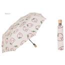 Peach - Life studio automatic foldable pattern umbrella