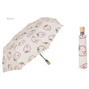 Peach - Life studio automatic foldable pattern umbrella