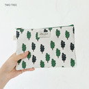 Two tree - Jam Jam cute illustration pattern zipper pouch