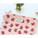 Camellia flower - Jam Jam cute zipper pouch