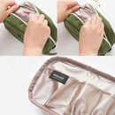 Detail of Weekade daily makeup cosmetic pouch bag