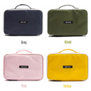 Colors of Weekade travel makeup cosmetic pouch bag