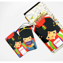Korean traditional travel luggage name tag