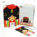 Bride - Korea traditional RFID blocking passport case