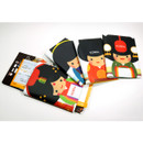 Korea traditional RFID blocking passport case