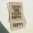 Happy time postcard envelope set