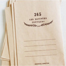 365 les matiness postcard envelope