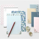 Pattern letter paper and envelope set for you