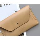 Beige - Daily envelope style slim wallet