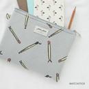 Matchstick - Jam Jam toilon pattern rectangular pouch