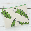 Foliage - Jam Jam toilon pattern rectangular pouch