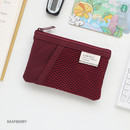 Raspberry - A low hill basic mesh pocket small pouch