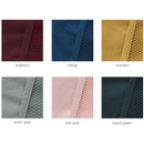 Colors of A low hill basic mesh pocket small pouch