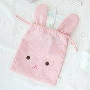 Bunny - Popuree water resistant drawstring pouch