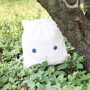 Cat - Popuree water resistant drawstring pouch