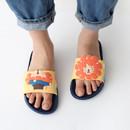 Rao - Hellogeeks petite PVC slide sandal