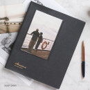 Deep gray - Awesome self adhesive photo album
