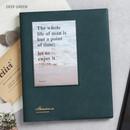 Deep green - Awesome self adhesive photo album