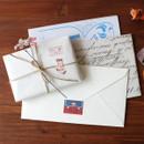 Usage example - Gentle Wave Retro Miniature deco paper sticker