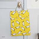 Duck - Jam Jam pattern zipper large tote bag